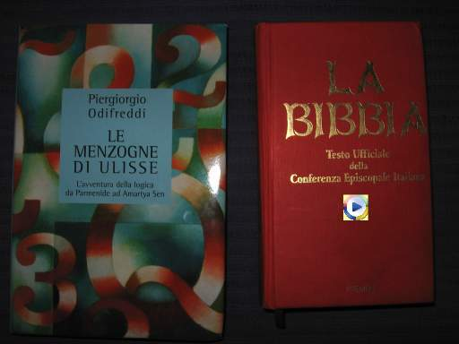 copertina di un libro di Piergiorgio Odifreddi e la Bibbia